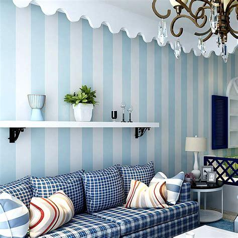 buy cozy bedroom  woven wallpaper blue