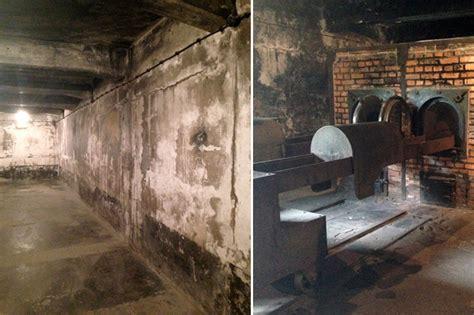 chambre a gaz auschwitz 70 ans après auschwitz porte encore les traces de l