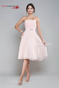 light pink short bridesmaid dresses 2015 women a line With robe rose cocktail