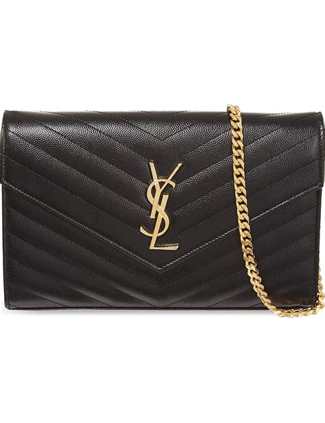 saint laurent monogram leather bag jennifer aniston