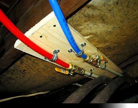 how to install pex pipe under sink 1000 images about pex plumbing on pinterest cold