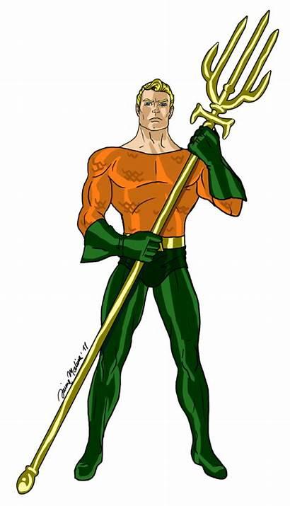 Aquaman Transparent Comic Clipart Clip Aqua Drawing