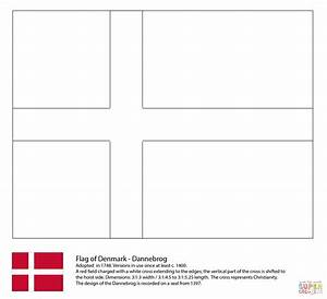 Iceland Flag Coloring Page 1930 1591u00d71301 Www