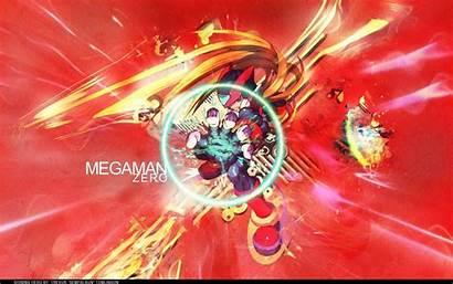 Mega Megaman Zero Theme Wallpapers Desktop Themepack