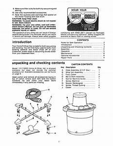 Craftsman 113178200 User Manual 16 Gallon Home N Shop Vac