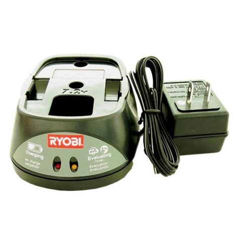 ryobi battery charger indicator lights power tool battery charger ryobi 140295001 7 2 volt ni cd