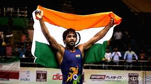 Asian Wrestling Championship - Bajrang Punia Vs Seungchul Lee