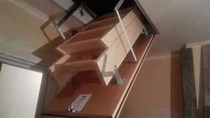 Echelle Pour Escalier : installer un escalier echelle escamotable pour combles ~ Melissatoandfro.com Idées de Décoration