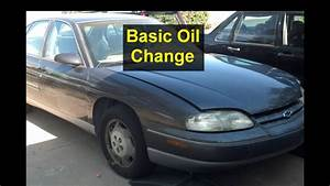 Oil Change On A Chevrolet Lumina