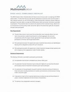 Summary of ERISA 404(c) Requirements