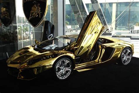 gold lamborghini with diamonds gold dan gems lamborghini aventador yours for 7 5