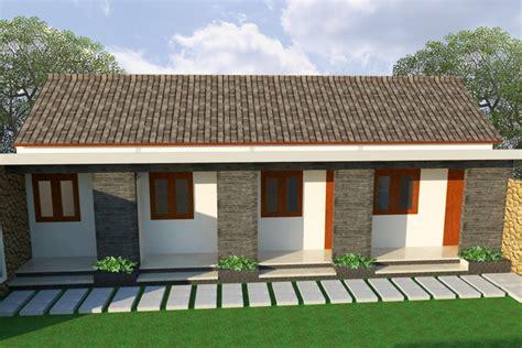 desain rumah kost minimalis architecture design