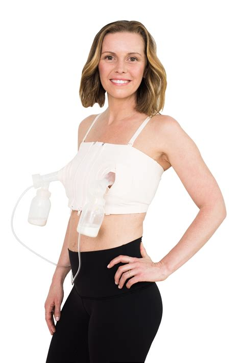Simple Wishes Hands Free Breastpump Bra Pink Xs L