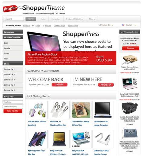 Ecommerce Wp Themes Ecommerce Theme Shopperpress