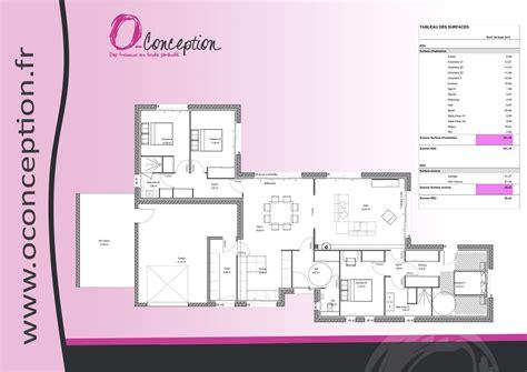 plan de maison plain pied 4 chambres avec garage plan voir le plan with plan de maison de plain pied avec 4