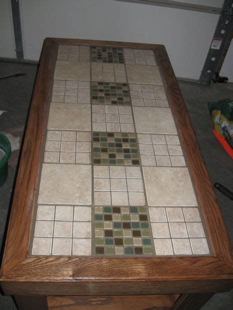 mosaic kitchen table top tile a table top 5 steps