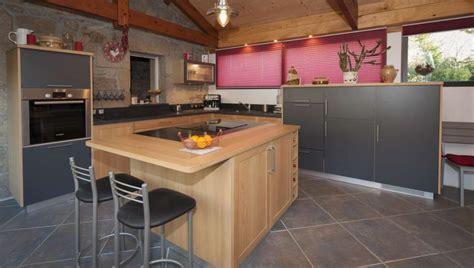 cuisine gris ardoise cuisine bois ardoise le bois chez vous