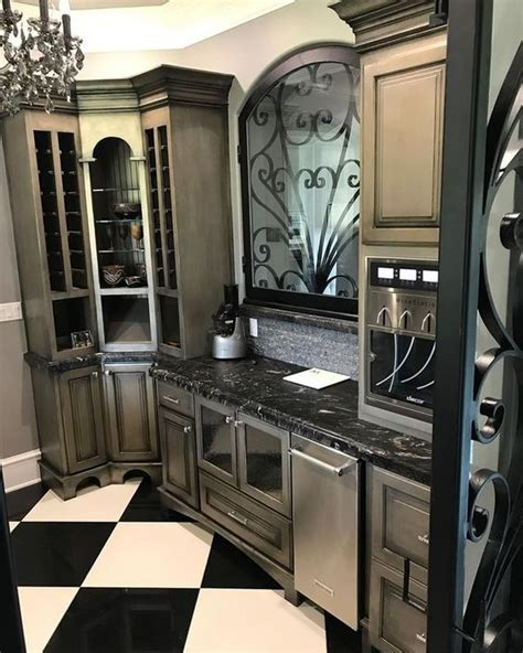 Kitchen Metallic Paint by Just Add Metallic Paint Beautiful Cabinet Projects With