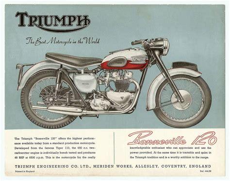 Vintage Motorcycle Ads