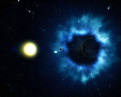 speeding black hole extreme space space science