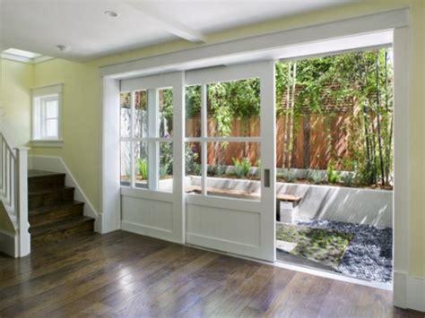 sliding glass door towards the backyard apply sliding glass doors you can
