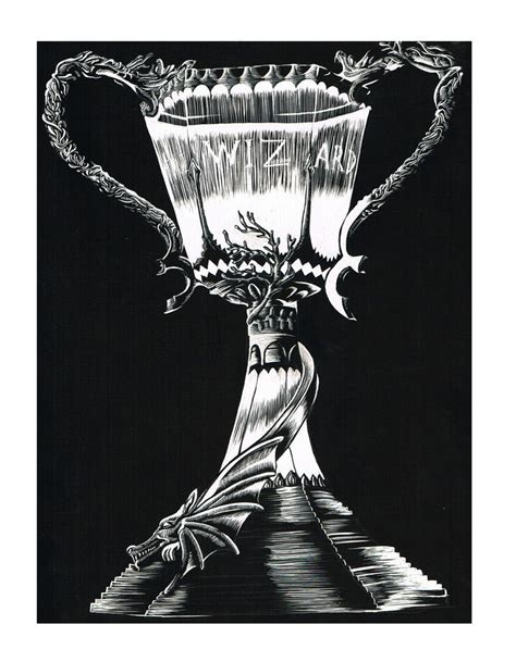 triwizard cup l triwizard cup by hauntedhouse667 on deviantart