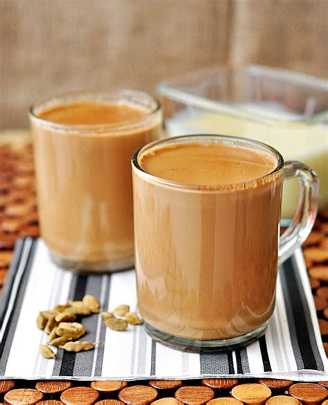 tea with milk chai spiced milk tea fuss free cooking