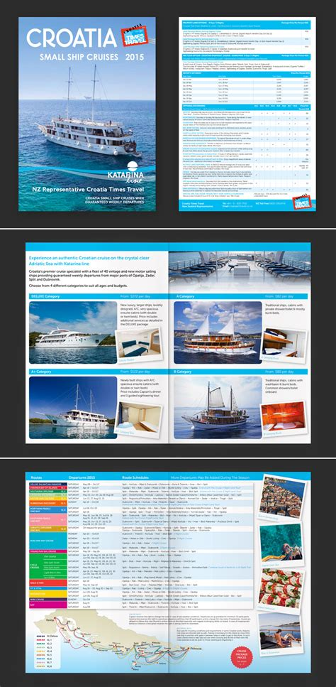 Cruise Travel Brochure Template Design 15 Travel Brochure Exles With Enticing Designs Naldz