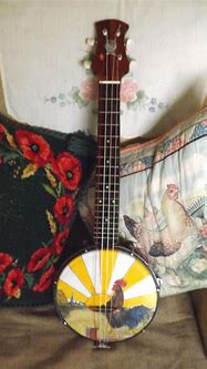 Tenor Ukulele made for my son. Scene is hand painted and ...