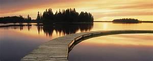 Image Gallery lake sunset wallpaper