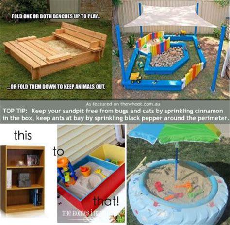 diy sandboxes designed  inspire  breaking  bank