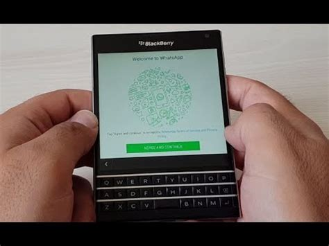 how to install whatsapp on blackberry passport easy