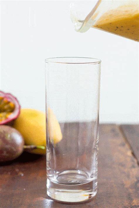 easy mango lassi recipe  passion fruit juice