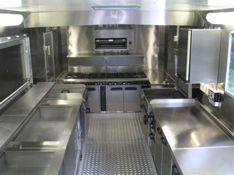 cuisine interiors mobile kitchen and food truck design basics