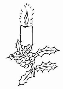 Weihnachtsgeschenke Zum Ausmalen : ausmalbilder adventskerze mit stechpalmenzweig ~ Watch28wear.com Haus und Dekorationen