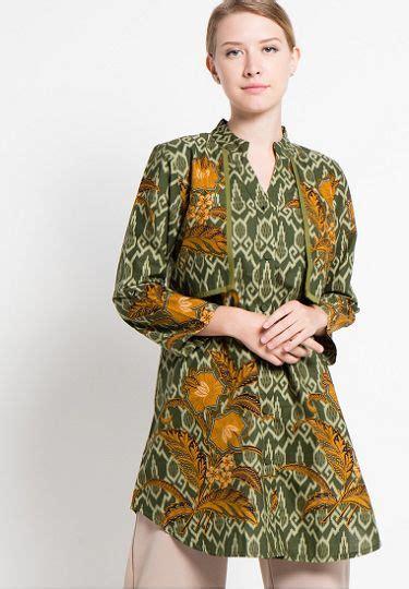 model baju batik wanita danar hadi terbaru