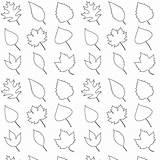 Coloring Leaves Printable Pattern Leaf Fall Pages Patterns Paper Geschenkpapier Kindergarten Traceable Cut Tree Ausdruckbares Freebie Line Leave Scrapbooking Digital sketch template