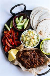 Hawaiian Hula Pork Fajitas