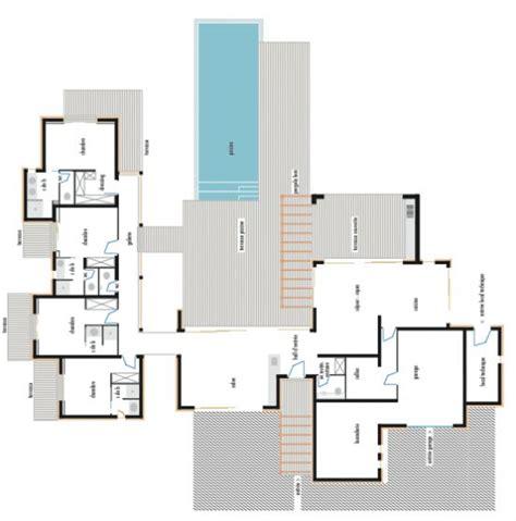 plan maison plain pied 100m2 3 chambres votre avis sur le premier plan maison plain pied 200m2