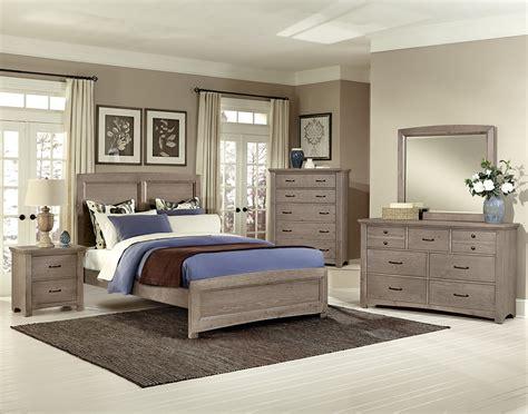 Bassett Vaughan Bedrooms by Vaughan Bassett Transitions Driftwood Oak Bb61 Bedroom