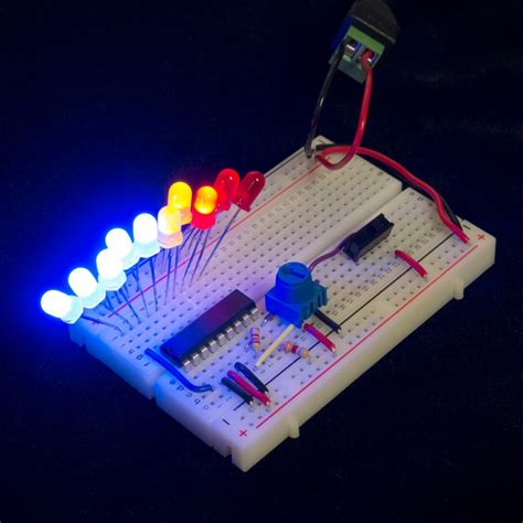 Looking For Help Designing Circuit That Lights Leds