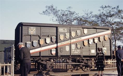 The Merci Train: 49 Boxcars Filled With Gratitude