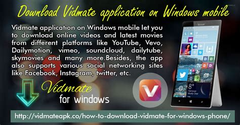 vidmate for windows phones vidmate apk medium