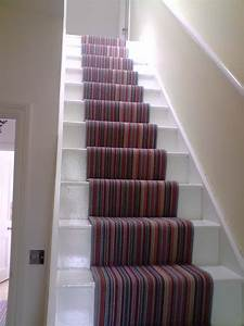 Colorful Carpet Runners for Stairs » Home Decorations Insight