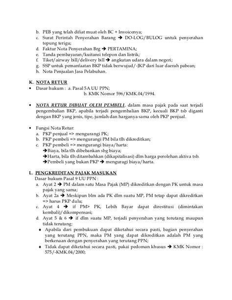 contoh rekap faktur pajak tracy notes