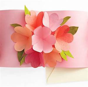 craft maniacs flower pop up card With flower pop up card templates
