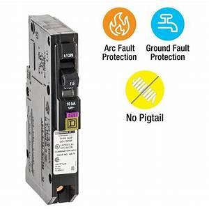 Square D Qo 15 Amp Single