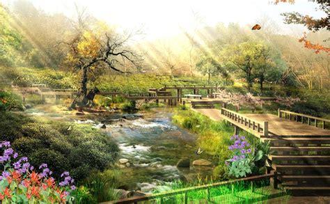 Nature Animated Wallpaper Desktop - relaxing nature animated wallpaper