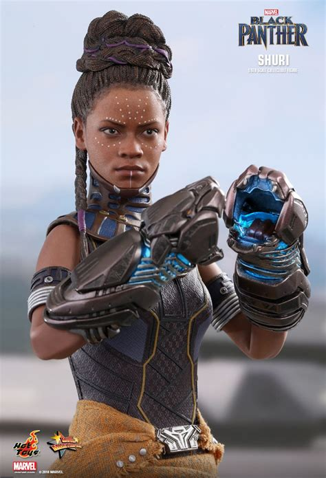 preview hot toys  scale shuri  wakanda throne