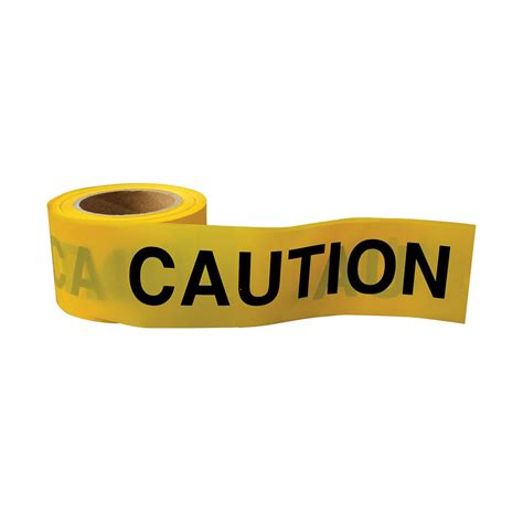 yellow black caution tape